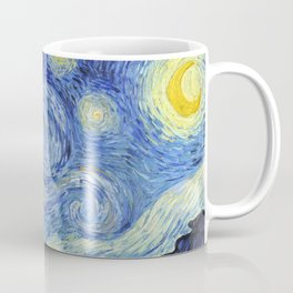 1889-Vincent van Gogh-The Starry Night-73x92 Coffee Mug