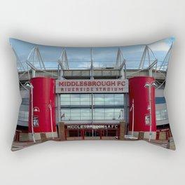 Football Stadium - Middlesbrough Rectangular Pillow