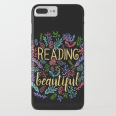 Reading is Beautiful - Gold Foil iPhone 7 Plus Slim Case