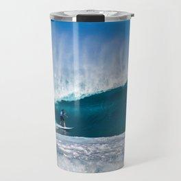 Surfing Pipe Travel Mug