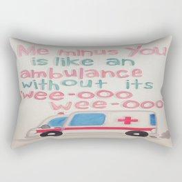Wee-Ooo  Rectangular Pillow