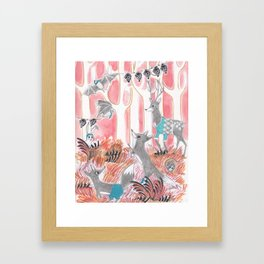 Dinner Party Framed Art Print