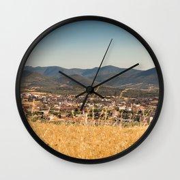 Los Navalucillos 03 Wall Clock