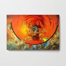 quantum bubblebath Metal Print