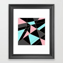 Abstraction . 5 geometric pattern Framed Art Print