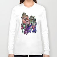 guardians of the galaxy Long Sleeve T-shirts featuring Guardians of the Galaxy by Max Grecke