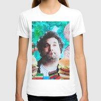 jessica lange T-shirts featuring Artie Lange by John Turck