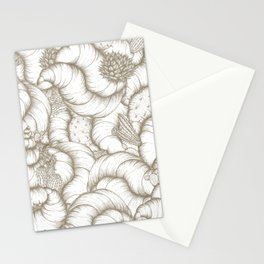 ABSTRACT CATUSES Stationery Cards