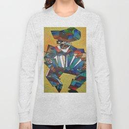 The Accordionist Long Sleeve T-shirt