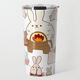 Baking buns Travel Mug