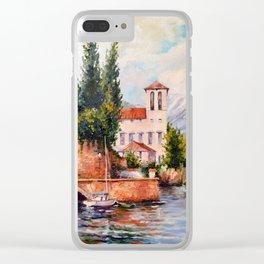 Gulf Clear iPhone Case