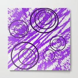 Spin Me in Circles Metal Print