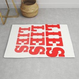 "A Nice Simple Lies Tee For Liars Saying ""Lies Lies Lies"" T-shirt Design Forgery Fiction Dishonesty Rug"