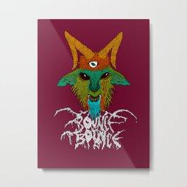 Bouncephomet Metal Print