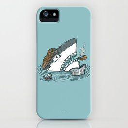 The Dad Shark iPhone Case