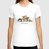 teen wolf T-shirts featuring Pack McCuddle - Teen Wolf by aredblush