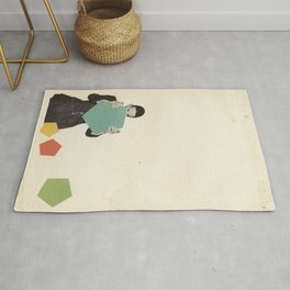 Discovering New Shapes Rug