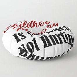 Funny Adulthood Design Childhood Memory Back Pain Meme Real Floor Pillow