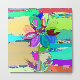 Colors of the World - Flower Metal Print