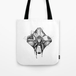 Decaying Ghost Shell Tote Bag