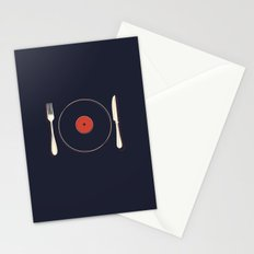 Vinyl Food Stationery Cards