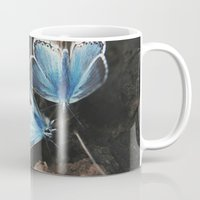 fairies Mugs featuring The Fairies by whiteplights