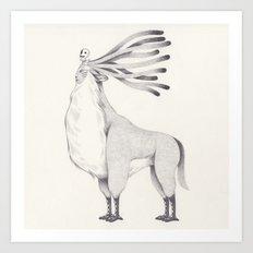 spirit forest Art Print
