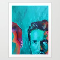 mulder Art Prints featuring Mulder by ZEKE