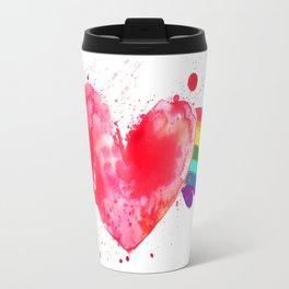 Love Wins. Travel Mug