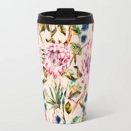 Pattern boho floral Travel Mug