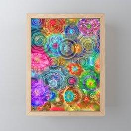 Flowery Meadow 2 Framed Mini Art Print