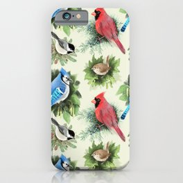 Birds and Branches iPhone Case