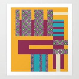 Almost Square Art Print