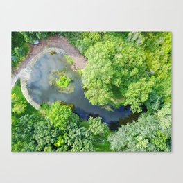 Water Overlook Canvas Print