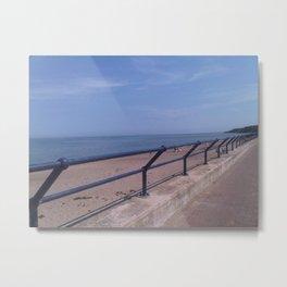 Spittal Promenade by FGW Metal Print