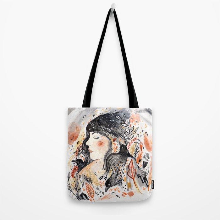 Crows & I Tote Bag