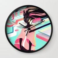 loish Wall Clocks featuring Gumdrop by loish