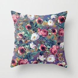 RPE Seamless Floral IV Throw Pillow