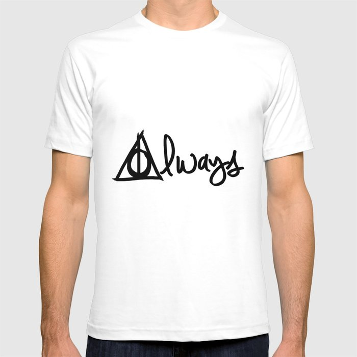 e0c66b421 Always, Deathly Hallows, Harry Potter T-shirt