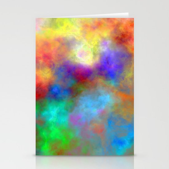 Oh So Colorful Stationery Cards