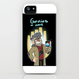 Ford Pines-Genius at Work iPhone Case