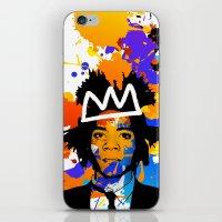 basquiat iPhone & iPod Skins featuring BASQUIAT by SebinLondon