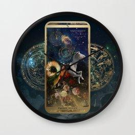 Zodiac : Capricorn Wall Clock