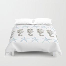 Starfish & Seahorses Duvet Cover