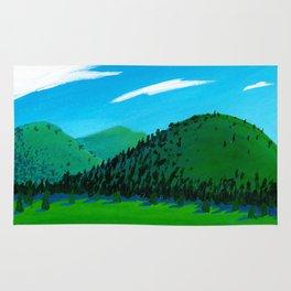 green hills Rug