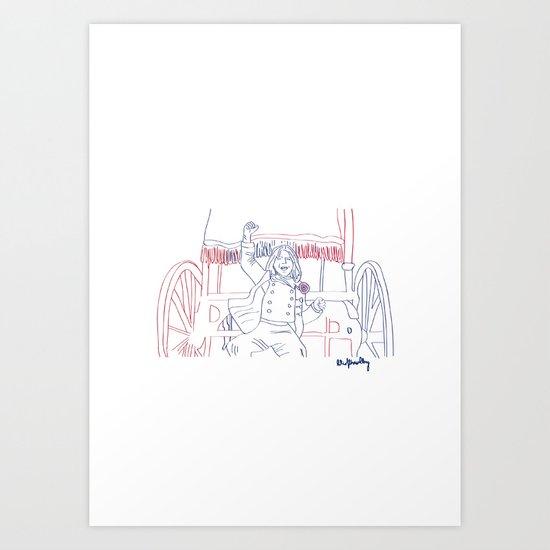Vive la France! Art Print