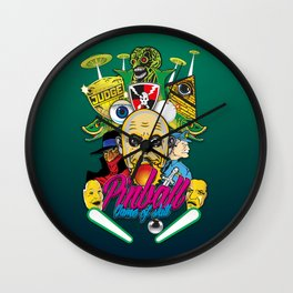 Pinball, Game of skill Wall Clock