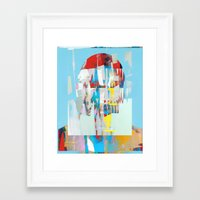 tchmo Framed Art Prints featuring Untitled 20150312d by tchmo