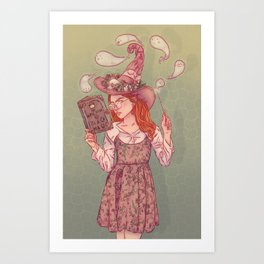 L'Apprentie Art Print