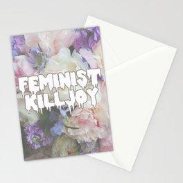 Floral Feminist Killjoy Stationery Cards